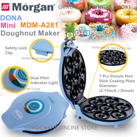 image of Morgan 7 Pcs Healthy Mini Donut/Kuih Keria Maker MDM-A281