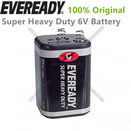 image of Eveready Super-Heavy Duty 6V Battery 1pc