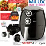 Milux Speedy Air Fryer 2.6 Litre 1400W MAF-1488BK Black