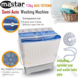 image of Mastar 7kg Semi-Auto Washing Machine