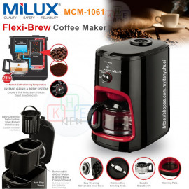 image of Milux Flexi-Brew Coffee Maker 0.6L