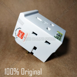 image of MK 692 WHI 13A 3-way Fused Adapter Heavy-Duty