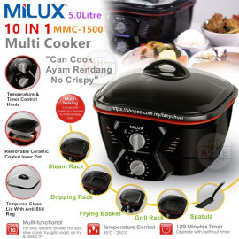 image of Milux 10in1 Multi-Cooker 5L