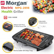 image of Morgan Electric Pan Grill with Detachable Grill Plate