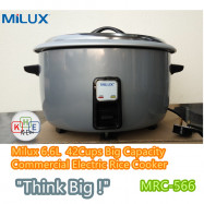image of Milux 6.6L (42 Cups) Commercial Electric Rice Cooker