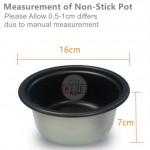 Milux Rice Cooker Non-Stick Inner Pot