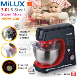 image of Milux Stand Mixer 3.0Litre MSM-400