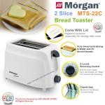 Morgan 2 Slice Bread Toaster MTS-22