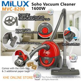 image of Milux Vaccum Cleaner 1600W