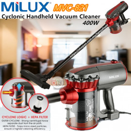 image of Milux Cyclonic Handheld Vacuum Cleaner
