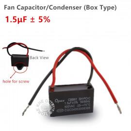 image of Opex Fan Motor Capacitor/ Condenser 1.5uf