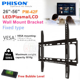 "image of Phison 26""-56"" TV Wall-Mount Bracket"