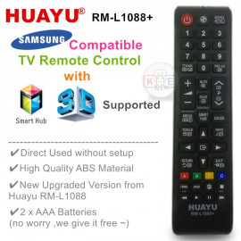 image of Huayu TV Replacement Remote Control for Samsung