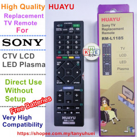 image of Huayu TV Replacement Remote Control for Sony