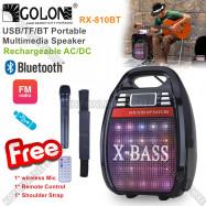 image of Golon Rechargeable Multimedia Portable Bluetooth USB Speaker