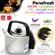 image of Panafresh Stainless Steel Electric Kettle 5L