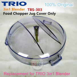 image of Trio 3in1 Blender Spare-Part Food Chopper Lid Cover (ONLY)