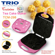 image of Trio Cake Maker with 8 different Mold Shape