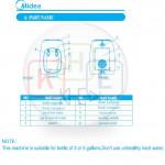 Midea Normal & Hot Water Dispenser