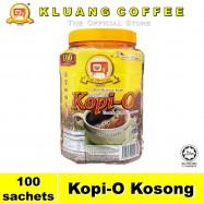 image of Kluang Black Coffee Kopi-O【100 sachets】CAP TELEVISYEN