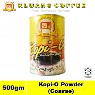 image of Kluang Black Coffee Kopi-O Powder Coarse【500gm】CAP TELEVISYEN