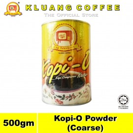 image of Kluang Black Coffee Kopi-O Powder Coarse【500gm】CAP TELEVISYEN