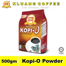 image of Kluang Black Coffee Kopi-O Powder【500gm】CAP TELEVISYEN