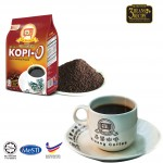 Kluang Black Coffee Kopi-O Powder【500gm】CAP TELEVISYEN