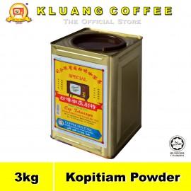 image of Kluang Black Coffee Kopitiam Powder【3kg】CAP TELEVISYEN