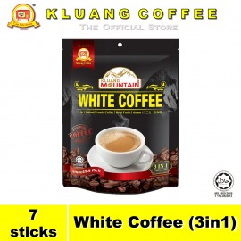 image of Kluang Mountain White Coffee (3in1)【7 sticks】CAP TELEVISYEN