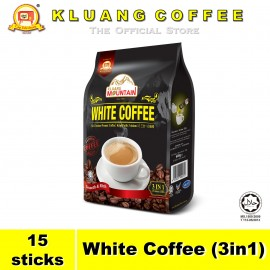 image of Kluang Mountain White Coffee (3in1)【15 sticks】CAP TELEVISYEN