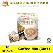 image of Kluang Mountain Coffee Mix (3in1)【10 sticks】CAP TELEVISYEN