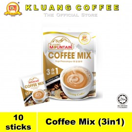 image of Kluang Mountain Coffee Mix (3in1)【10 sticks】CAP TELEVISYEN