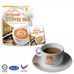 Kluang Mountain Coffee Mix (3in1)【10 sticks】CAP TELEVISYEN