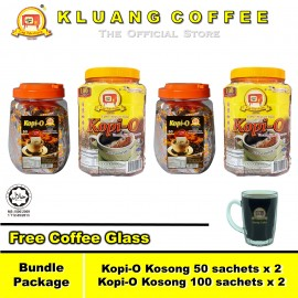 image of Kluang Coffee Cap Televisyen Kopi-O【Bundle Package】