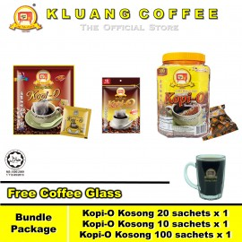 image of Kluang Coffee Cap Televisyen Kopi-O Family【Bundle Package】