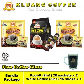 image of Kluang Coffee Cap Televisyen White Coffee Kopi-O【Bundle Package】