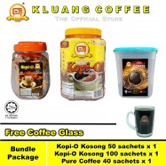 image of Kluang Coffee Cap Televisyen Kopi-O Pure Coffee【Bundle Package】