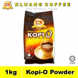 image of Kluang Black Coffee Kopi-O Powder【1kg】CAP TELEVISYEN