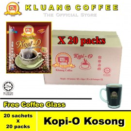 image of Kluang Black Coffee Kopi-O【20 packs / carton】CAP TELEVISYEN