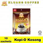 Kluang Black Coffee Kopi-O【10 sachets】CAP TELEVISYEN