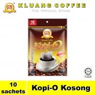 image of Kluang Black Coffee Kopi-O【10 sachets】CAP TELEVISYEN