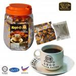 Kluang Black Coffee Kopi-O【50 sachets x 2 tubs】CAP TELEVISYEN