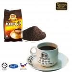 Kluang Black Coffee Kopi-O Powder【1kg】CAP TELEVISYEN