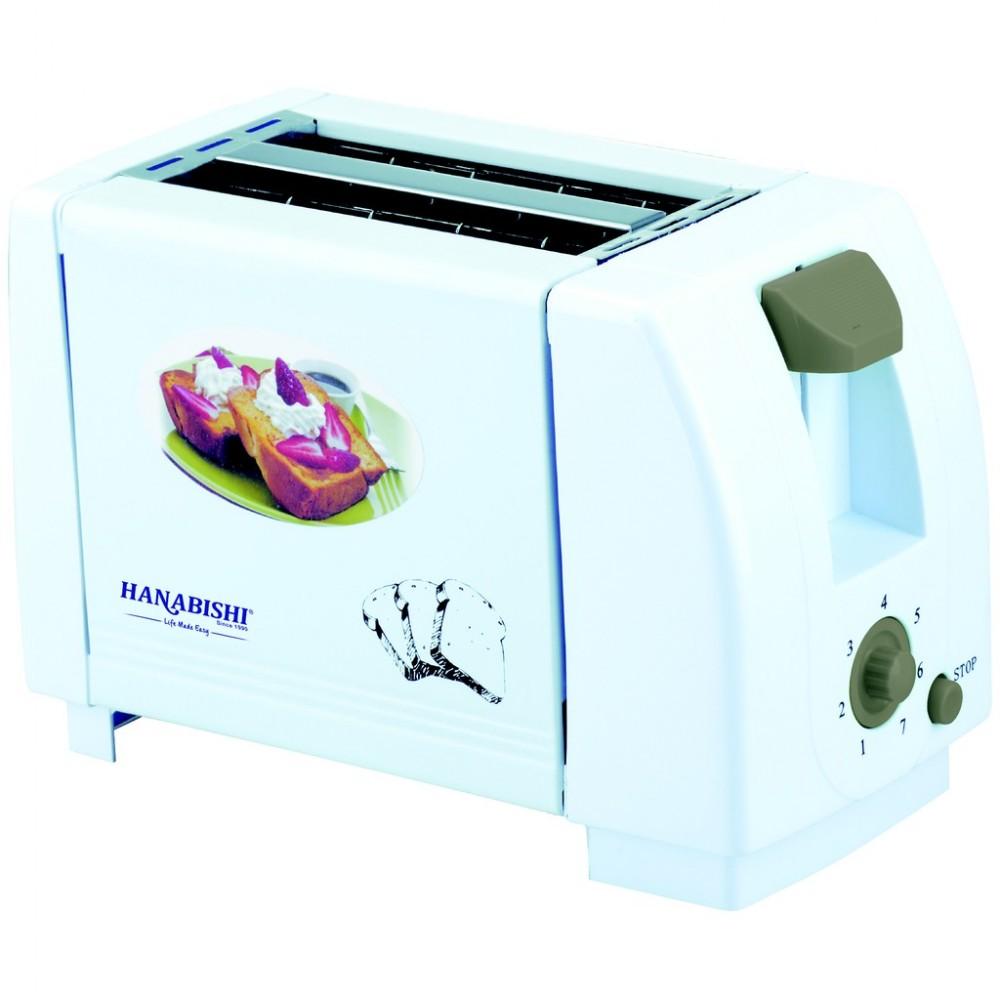 Hanabishi 2 Slice Bread Toaster HA558