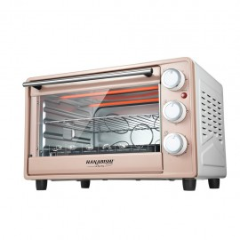 image of Hanabishi Electric Oven 23L HA6223 Rose Champagne
