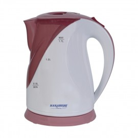 image of Hanabishi Jug Kettle with LED 1.7L HA9830 (Maroon Red)