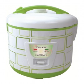 image of OFF Hanabishi Deluxe Jar Rice Cooker 1.8L HA6188J [FREE Steamer]