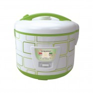 image of Hanabishi Deluxe Jar Rice Cooker 1.5L HA6122J [FREE Steamer]