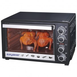 image of Hanabishi 34L Electric Oven HA6350CR (Turbo Fan with Rotisserie)